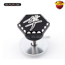 For SUZUKI GSX1300R GSX 1300R HAYABUSA Motorcycle Accessories 3D Hex Engraved Ball Cut Exhaust Hanger Peg Plug C(China)