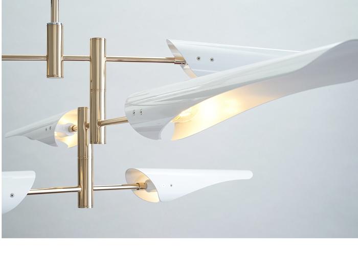 LukLoy Post Modern Metal Branch Chandelier Nordic Hanging Lamp Light Lighting Fixture Creative Personality LED Pendant Light (15)
