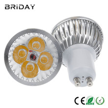 10pcs Dimmable GU10 9W 12W 15W Led Bulb 110V 220V Lamp Cool Warm White Light Spotlight 85-265V(China)
