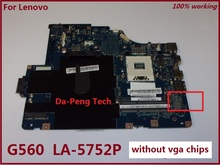 Original NIWE2 LA-5752P laptop motherboard FOR LENOVO Ideapad G560 motherboard DDR3 Fully tested(China)