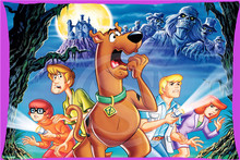 Hot Sale Classic Scooby Doo Rectangle Pillowcases zipper  Fashion Custom Pillow Case 45x35cm(one side) SQ00707-@H087