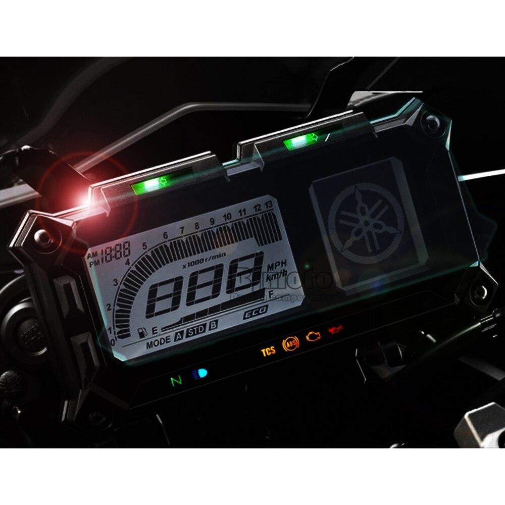 Motorcycle Accessories Dashboard Instrument Speedometer Film Screen Protector Stickers mt09 (9)