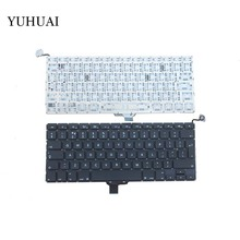 New UK Laptop Keyboard 2009-2012 For Apple Macbook Pro A1278 MC700 MC724 MD313 MD314 UK Keyboard Replacement(China)