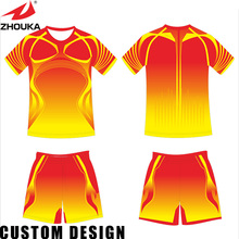 Bulk wholesale colorful jersey China soccer jersey cheap custom for Men