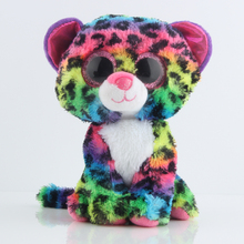Ty Beanie Boos Colorful Leopard Plush Toy Doll Stuffed Animals & Plush