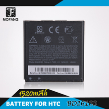 10pcs/lot Free shipment High capacity Mobile phone battery BD26100 for HTC A9191/T8788/Inspire 4G/Desire HD