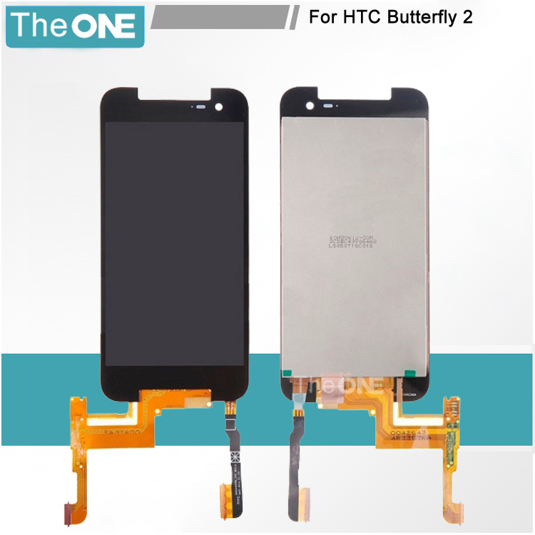 Free DHL 100% Good Working Full LCD Display Touch Screen Digitizer Assembly For HTC Butterfly2 Butterfly 2 Replacement Part<br>