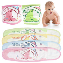 Cotton Baby Umbilical Band Thin Cartoon Belly Band Fit Waist Prevent Baby Catching Cold Washable Not Easily Deformed(China)