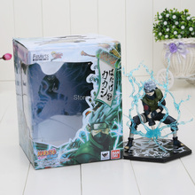 Japanese Anime Naruto Hatake Kakashi PVC Action Figure Toy Doll Model 13cm