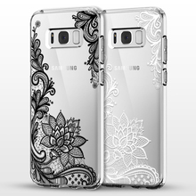 Mandala Flower For Samsung Galaxy S3 S4 S5 S6 S7 Edge S8 Plus A3 A5 2016 2015 2017 J2 J3 J5 J7 Case Grand Prime Fundas Coque