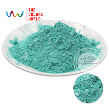TCZG4609 Sparkle Green  Color Pearlescent pigment,pearl luster ,Mica Powder DIY  Makeup Nail Design ,Nail Polish