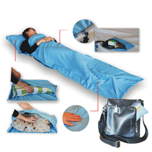 New Arrival Portable Camping Hiking Sleeping Bag Envelop Type Comfortable Feeling Sleeping Bag 210x70cm Summer Use(China)