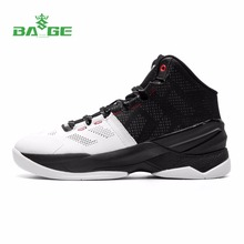 Bage Original Men's Basketball Shoes Brand High-Top Support Breathable Male Rubber Anti-slip Outdoor Sport Basketball Sneakers