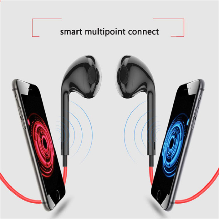 Sports Bluetooth Earphones Stereo Earbuds with Mic Handsfree Bluetooth Earphones for Meizu Blue Charm X 5 5s 5c E2