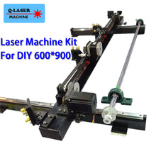 Co2 Laser Mechanical Spare Parts Kit 600mm*900mm Single Head for DIY 6090 CO2 Laser Engraving Cutting Machine