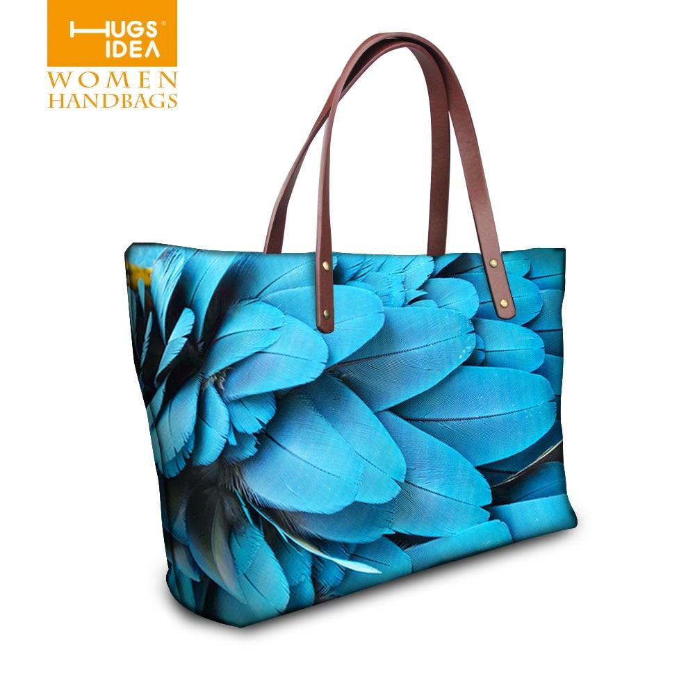 Fashion Women Handbags Animal Feather Designer Bags Female Shoulder Bag Famous Brand 2015 Bolsos Feminina Women Leather Handbags<br><br>Aliexpress