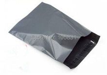 FREE SHIPPING 100PCS/LOT BLACK POLY MAILERS ENVELOPES BAGS 6.69 X 11.8 INCH