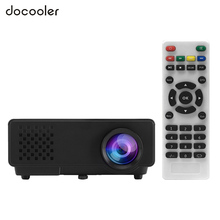 "RD-810 Full Color 100"" LED Projector 1000 Lumens 1080P Projection w/ HDMI VGA AV USB Port Remote for Notebook Tablet Smartphone"