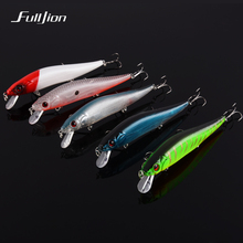 Fishing Lures Hard Floating Minnow Artificial Wobblers Crankbait Winter Fishing Tackle 3D Eyes Plastic Pesca Isca Baits 14cm 23g