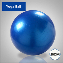 65 cm Exercise Ball & Air Pump for Yoga Fitness Pilates Balance Gym 4 colors Exercise Fitness Aerobic Ball