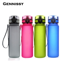 GENNISSY My Water Bottle Sports Combine Daily Pill Box Organizer Drinking Bottles For Water Plastic Leak-Proof Tumbler Bottles