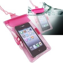 CES-New Practical Lovely Hot Pink Universal Waterproof Bag Case for Cell Phone / PDA