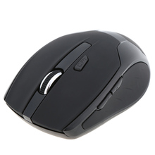 1600CPI Adjustable Bluetooth3.0 Wireless Mouse Business Mouse/Mice Practical Special Design for PC Laptop Smartphone Black