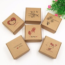 Buy 50pcs/lot 2017 New Style Kraft Brown Gift Boxes DIY Handmade soap/Jewelry/Cake/Cosmetics/Candy Box Paper Storage/Packing Boxes for $15.19 in AliExpress store
