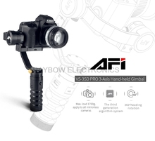 AFI VS-3SD PRO brushless cheap three axis stabilized camera gimbal 3 axis axes for Canon Sony Nikon DSLR Mirrorless Camera(China)