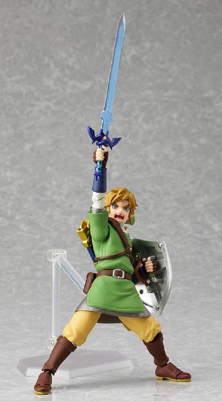 Boneco Zelda Link 14cm colecionador