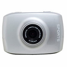 FHD 1080P Touch Screen Sports Camera Mini Digital Camcorder Waterproof Silver