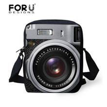 FORUDESIGNS Women Messenger Bags 3D Camera Printing Kids Boys Shoulder Bag Children Female Casual Crossbody Bag for Girls Bolsas(China)