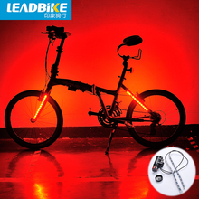 Leadbike Bike Tail Light Front Rear Fork 8 Models 24 Led MTB Road Bicycle Safety Warning Wheel Lamp Accessories - Shenzhen super light Technology Co., Ltd. store