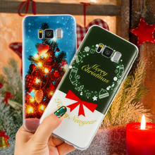 Christmas Case Cover TPU Clear Back Case Cute Cartoon Printed Design For Coque Samsung Galaxy J5 2016 2017 Prime Coque