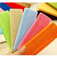 Free shipping! 1Pc Candy color hair lead cloth towels absorb sweat wash with wide hair scarf