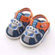 Latest New Summer Baby Outdoor Shoes Kids Girl Sound First Walkers,Super quality Cheap Toddler Shoes For Boys 11.5cm-14.5cm