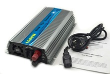 1000W Grid Tie Inverter DC20V-45V to AC120 or 230V Pure Sine Wave Inverter 1KW For 24V/30V/36V 60cells/72cells Solar Panel