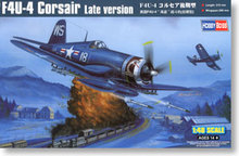 "Hobby Boss 1/48 scale aircraft models 80387 Water F4U-4 ""Pirates"" carrier-based fighter late *"