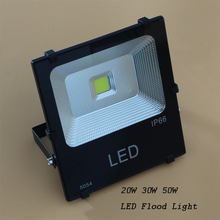 Free shipping 50W LED Flood light outdoor lighting color 3000k / 6500k waterproof IP 65 20PCS / Lot(China)