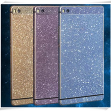 NOTOW High quality Diamond Glitter Bling Crystal skin full Body Decals Film /Sticker Protect case For huawei ascend p8