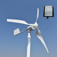 hot 600w MAX POWER 800W horizontal wind turbine generator 12v 24v AC/DC out put(China)