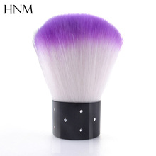 Soft Professional Cosmetic Powder Foundation Brush Nail Gel Brush Nail Art Brush Makeup Tool Nail Art Dust Cleaner