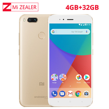 "Global Version Xiaomi Mi A1 MiA1 4GB RAM 32GB ROM Snapdragon 625 Octa Core Dual 12.0MP Android One 5.5"" 1080P Smartphone(China)"