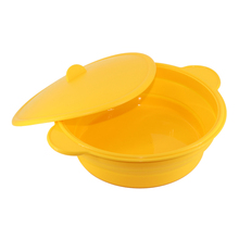 Silicone Microwave Oven Steamer Meal Pasta Rice Cooker Grain Cereal Multi Bowl Plate Cookware Kitchen Gadgets Accessories(China)