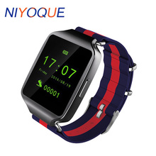 NIYOQUE L1 Smart Watch For IOS Android  Design MTK2502 Bluetooth Smartwatch With Weather Forecast Support SIM TF Card For Phone