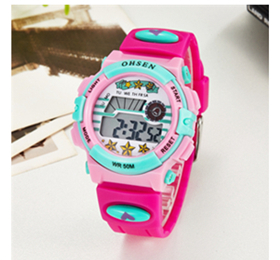 Special Section #5001waterproof Children Girls Digital Led Quartz Alarm Date Sports Wrist Watch Dropshipping New Arrival Freeshipping Hot Sales Children's Watches
