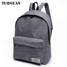 TUGUAN Canvas Men/Women Backpack Student School Bags for Teenager Girls Boy Travel Back Pack Rucksack Bagpack Schoolbag Female
