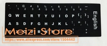 100pcs EN English Notebook Keyboard Stickers For Macbook Air Pro Retina 11 13 15 Laptop Notbook Keyboard Cover Protector Sticker(China)