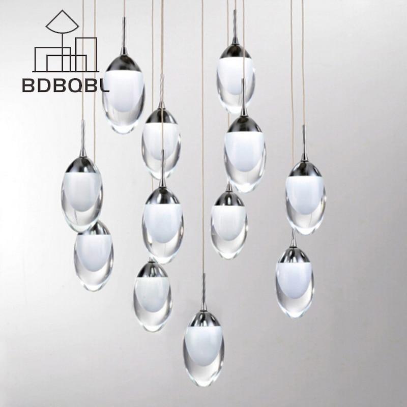 BDBQBL Modern Acrylic Pendant Lamp Loft Novelty Magic Pendant Lights LED Lighting LED Strip Indoor Lighting Dining Room Bar<br>