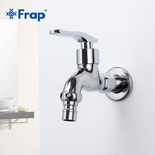 FRAP High-quality Brass Copper Kitchen Faucet Quick Opening Single Cold Tap Washing Machine Crane F521 F522(China)